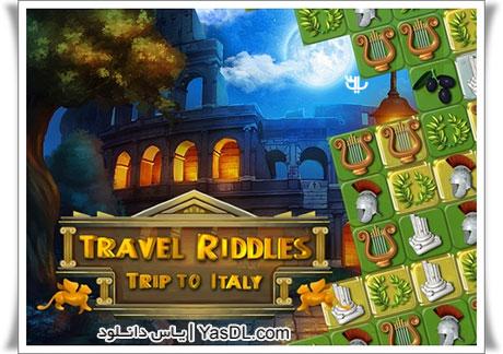 دانلود بازی کم حجم Travel Riddles Trip To Italy برای کامپیوتر