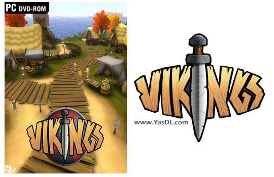 دانلود بازی کم حجم Playing History 3 Vikings برای کامپیوتر
