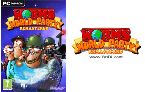دانلود بازی Worms World Party Remastered برای PC