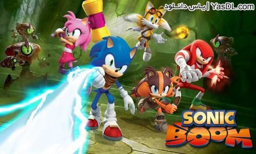 دانلود بازی Sonic Dash 2: Sonic Boom 0.1.2 - بازی سونیک برای اندروید + نسخه بی نهایت و دیتا