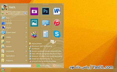 دانلود Start Menu 10 Pro v5.5 - منوی استارت جایگزین برای ویندوز 10
