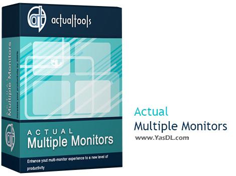 دانلود Actual Multiple Monitors 8.5 - نرم افزار مدیریت مانیتورهای چندگانه