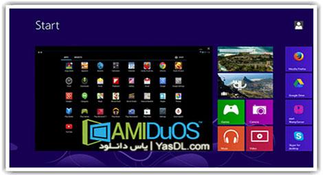 دانلود AMIDuOS 2 Lollipop Pro x86/x64 اندروید در ویندوز