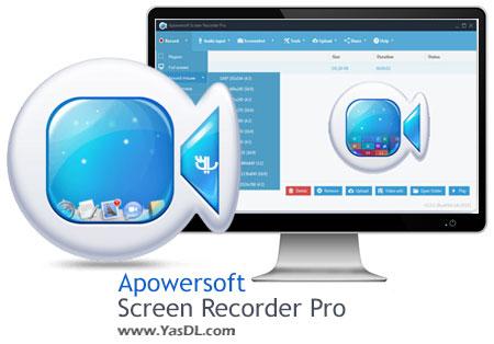 دانلود Apowersoft Screen Recorder Pro 2.0.7 - نرم افزار فیلمبرداری دسکتاپ