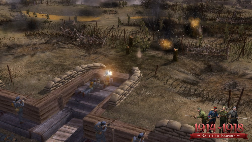 Battle of Empires: 1914-1918 - German campaign 2015 pc game Img-4