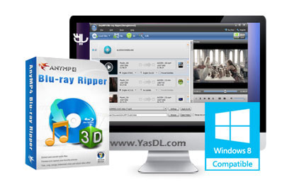 دانلود AnyMP4 Blu-ray Ripper 8.0.51 - نرم افزار ریپ دیسک های بلوری