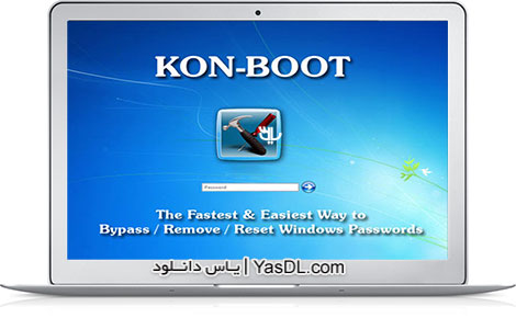 دانلود Kon-Boot for Windows 2.5.0 - نرم افزار شکستن پسورد ویندوز