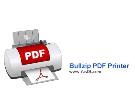 دانلود Bullzip PDF Printer 10.16.0.2426 - نرم افزار چاپ فایل های PDF