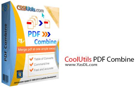 دانلود CoolUtils PDF Combine 4.1.68 - نرم افزار ترکیب فایل های PDF