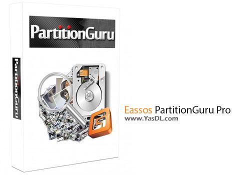 دانلود Eassos PartitionGuru Pro 4.7.2.155 + Portable - نرم افزار پارتیشن بندی