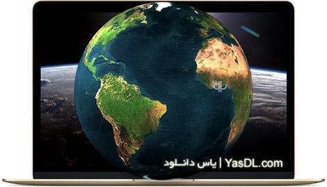 دانلود EarthView 5.5.7 + Maps - نرم افزار مشاهده کره زمین در دسکتاپ