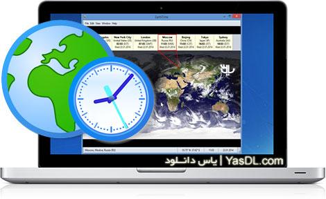 دانلود EarthTime 5.4.2 - نرم افزار ساعت دقیق شهرهای مختلف جهان