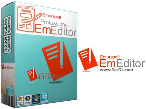 دانلود EmEditor Professional 20.7 x86/x64 + Portable - ویرایشگر متن