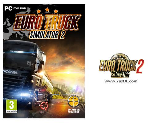دانلود بازی Euro Truck Simulator 2 + Patch 1.22.2 - بازی شبیه ساز رانندگی با کامیون