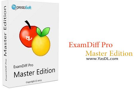 دانلود ExamDiff Pro Master Edition v11.0.1.13 x86/x64 - نرم افزار مقایسه فایل ها