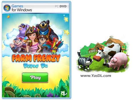 دانلود بازی Farm Frenzy Heave Ho برای PC