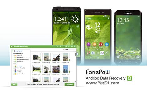 دانلود FonePaw Android Data Recovery 1.3.0 - بازیابی اطلاعات اندروید