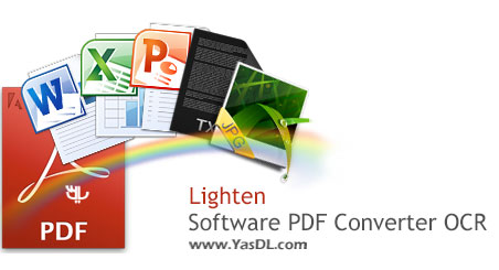 دانلود Lighten Software PDF to Word OCR 4.0 - نرم افزار تبدیل PDF به Word