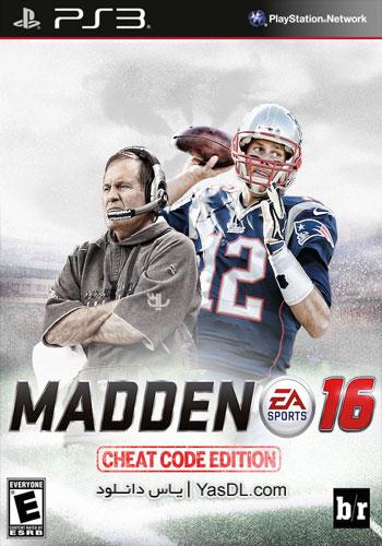 دانلود بازی Madden NFL 16 برای Ps3