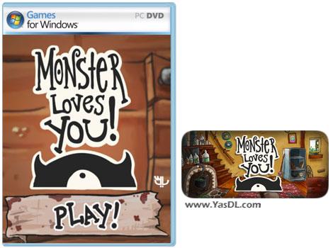 دانلود بازی کم حجم Monster Loves You برای کامپیوتر