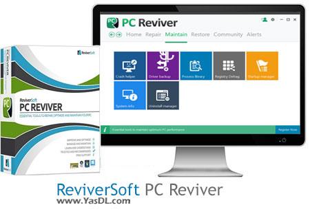 دانلود ReviverSoft PC Reviver 2.0.5.20 x86/x64 - نرم افزار بهینه سازی سیستم