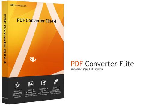 دانلود PDF Converter Elite 4.0.6.0 + Portable - نرم افزار مبدل PDF