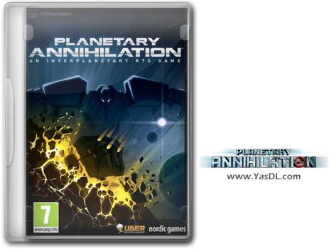 دانلود بازی Planetary Annihilation TITANS Rainbows and Unicorns برای PC