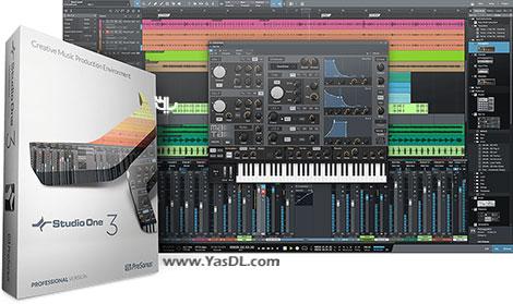 دانلود Presonus Studio One Pro 3.0.2.34331 x86/x64 - نرم افزار تدوین صدا