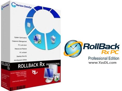 دانلود RollBack Rx Pro 10.3 Build 2700650506 - نرم افزار ساخت ریستور پوینت ویندوز