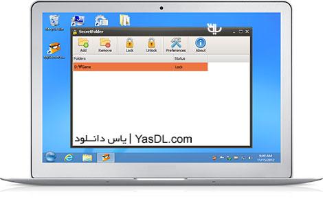 دانلود SecretFolder 3.7.0.0 - نرم افزار محافظت از فولدرها