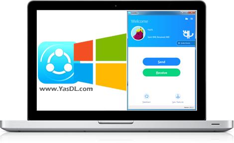 دانلود SHAREit نرم افزار شیریت برای ویندوز و کامپیوتر