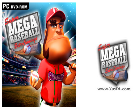 دانلود بازی Super Mega Baseball Extra Innings برای PC