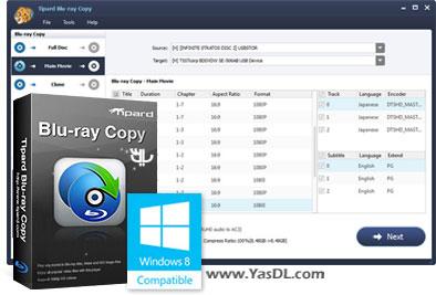 دانلود Tipard Blu-ray Copy 7.1.22 - نرم افزار کپی دیسک های بلوری