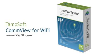 دانلود TamoSoft CommView for WiFi 7.1.805 - نرم افزار آنالیز و کنترل شبکه WiFi