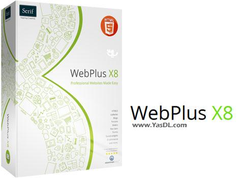 دانلود Serif WebPlus X8 16.0.3.30 - نرم افزار حرفه ای توسعه صفحات وب