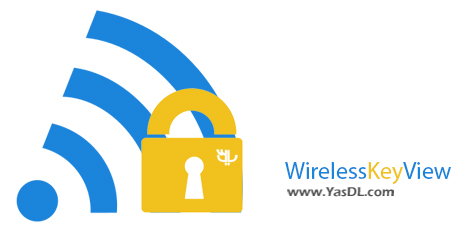 دانلود WirelessKeyView 1.71 x86/x64 - نرم افزار بازیابی پسورد وایرلس
