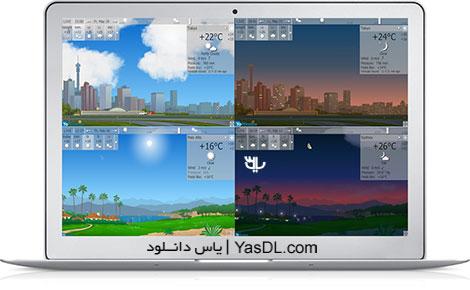 دانلود YoWindow Unlimited Edition 4 Build 40 RC + Portable - نرم افزار هواشناسی