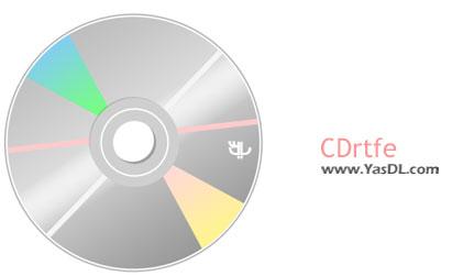 دانلود CDrtfe 1.5.4 + Portable - نرم افزار رایت دیسک