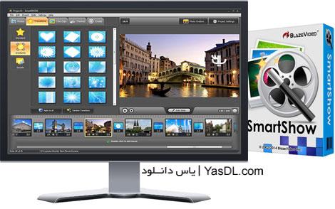 دانلود AMS Software SmartSHOW Deluxe 2.15.304 - ساخت اسلایدشو