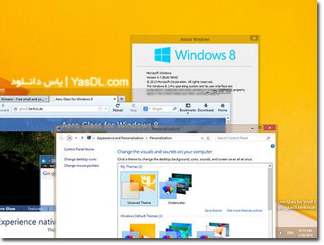دانلود Aero Glass 1.4.1.241 for Windows 8.1/10 x86/x64 - افکت پنجره های شیشه ای