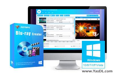 دانلود AnyMP4 Blu-ray Creator 1.0.86 - ساخت حرفه ای دیسک های بلوری