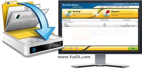 دانلود BackUp Maker Standard Edition 7.101 - پشتیبانی گیری از اطلاعات