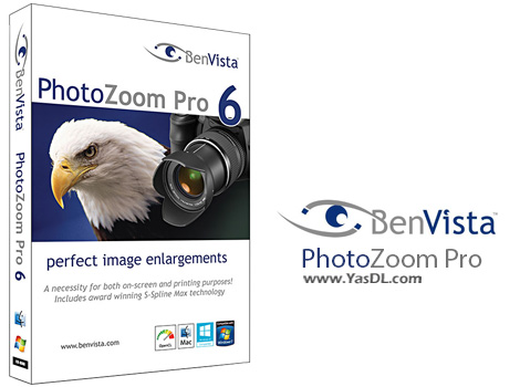 دانلود BenVista PhotoZoom Pro 6.0.6 - نرم افزار زوم تصاویر بدون افت کیفیت
