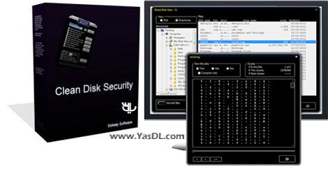 دانلود Clean Disk Security 8.06 - نرم افزار حذف غیرقابل بازگشت فایل ها