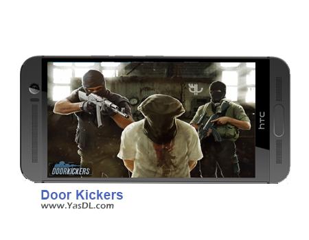 دانلود بازی Door Kickers 1.0.4 برای اندروید + دیتا