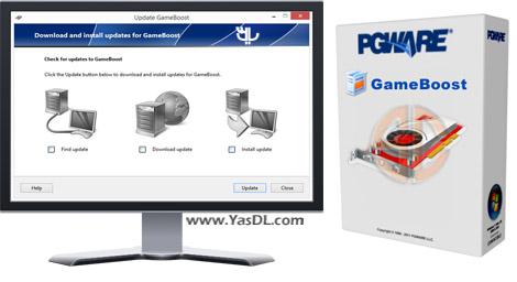 دانلود PGWare GameBoost 3.8.31.2015 - اجرای روان تر بازی های کامپیوتری