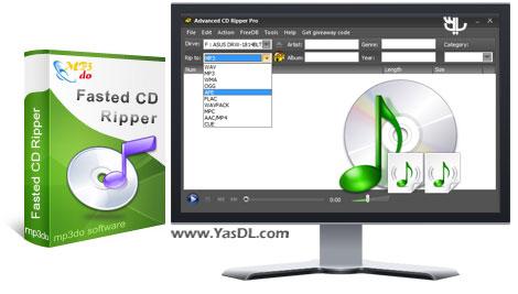 دانلود MP3DO Advanced CD Ripper Pro 3.60 - ریپ دیسک های صوتی