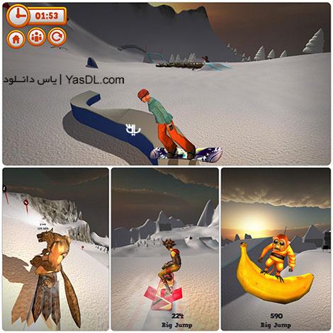 دانلود بازی کم حجم Mad Snowboarding برای کامپیوتر