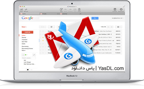 دانلود Mailplane 3.5.4 - نرم افزار مدیریت جیمیل در مک