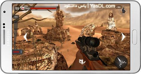 دانلود Mountain Sniper Shooting 3D 3.7 بازی تک تیرانداز کوهستان برای اندروید